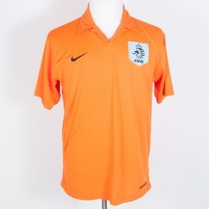 Nike NETHERLANDS Football Soccer Polo Shirt